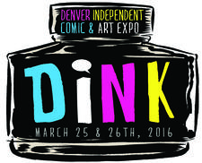 Denver Independent Comic and Art Expo logo