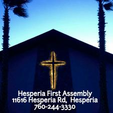 Hesperia First Assembly logo