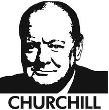 The International Churchill Society logo