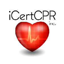 iCertCPR, Inc. (CPR courses + AED resources) logo