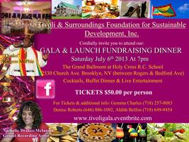 Tivoli &Surroundings Foundations Inc Fundraising Gala