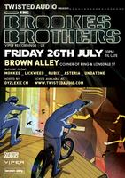 Twisted Audio presents BROOKES BROTHERS (UK)