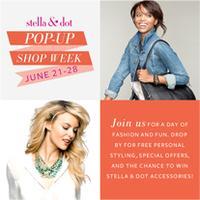 "Stella & Dot ""Pop-Up Shop"" at Cheryl Fudge in Santa..."