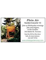 The Annual AGC/ Plein Air Launch Party