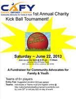 CAFY 1st Annual Charity Kickball Tournament