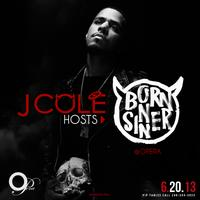 J Cole Born Sinner Album Release Party at OPERA Thursday...