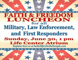 Faith and Freedom Luncheon