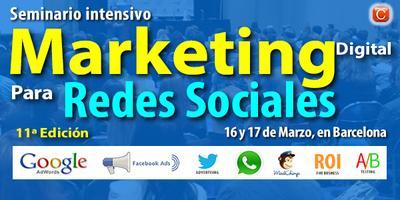 Seminario de Marketing Digital para Redes Sociales -...
