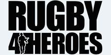 Rugby 4 Heroes logo