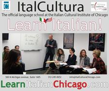 ItalCultura, the official language school at the Italian Cultural Institute  logo