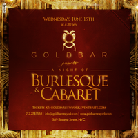 Burlesque Wednesday at GoldBar