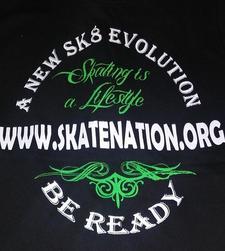Skate Nation logo