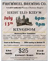 Benefit to Rebuild Kids Kingdom