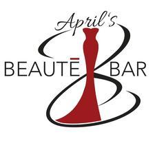 "April ""BEAUTE' Bar"" Cobb logo"