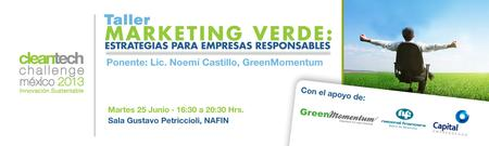 Taller: Marketing Verde: Estrategias Para Empresas Responsables