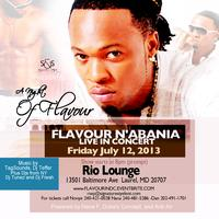 A NIGHT OF FLAVOUR|-FLAVOUR N'ABNIA LIVE IN CONCERT-