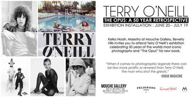 Terry O'Neill Exhibition Celebrating 50 Years of Iconic...