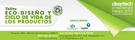 Talleres Marketing Verde (25 de junio) y Ecodiseño (26 de junio)