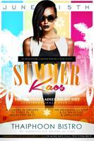 #SummerKAOS Pool Party  (12-5PM )Sponsored by DOMINOS...