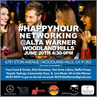 #HappyHour Networking @ Alta Warner