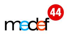 MEDEF 44  logo