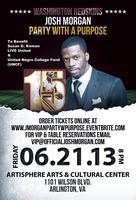 Washington Redskins Josh Morgan Party with a Purpose