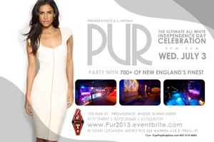 PUR 2013: THE ALL WHITE INDEPENDENCE DAY CELEBRATION