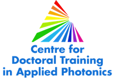 CDT in Applied Photonics, School of Engineering and Physical Sciences, Heriot-Watt University logo