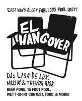 EL HANGOVER: East Van's alley fabulous parking lot...