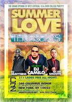"THURSDAY JUNE 27TH: THE GRAND OPENING OF ""SUMMER LOVE"" THURSDAYS..."