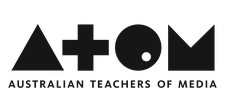 Australian Teachers of Media (ATOM) logo