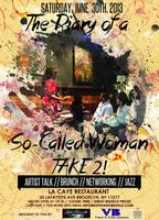 The Diary of a So-Called Woman Artist Talk & Haitian Jazz Brunch