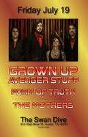 Grown Up Avenger Stuff + Form of Truth + The Mothers