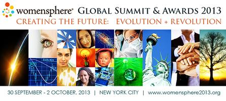 Womensphere Global Summit 2013 | CREATING THE FUTURE: EVOLUTION...