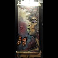 Pop Up Social Pop Up Art Live Painting with Jai D Artis...