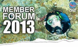 PADI 2013 South West (England) Member Forum