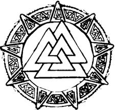 Bloodied Downs Staff logo