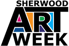 Sherwood Art Week logo