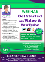 WEBINAR: Using Video and YouTube to Showcase What You...