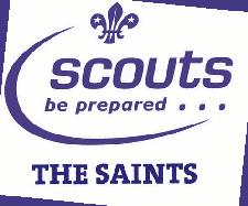 The Saints Scout Troop logo