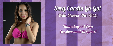 SESSION: Sexy Cardio Go-go Dancing