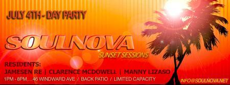 SOULNOVA 006 - July 4th Day Party!