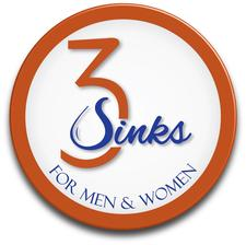 3 Sinks Salon logo