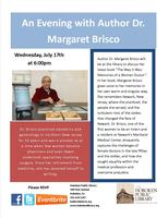 An Evening with Author Dr. Margaret Brisco