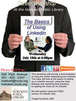 Monthly Career Workshop: The Basics of Using Linkedin