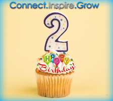 Connect.Inspire.Grow. 2 Year Anniversary of Networking...