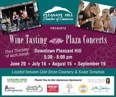 Wine Tasting at the Plaza Concerts