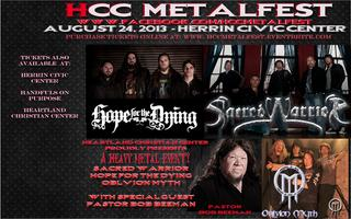 HCC MetalFest : Sacred Warrior -Hope For the Dying -...