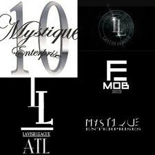 Mystique Enterprise/ Shoalan De Mystique/ Mystique Judah #LavishLeagueATL #TeamMystique #EFFENMobSouth logo