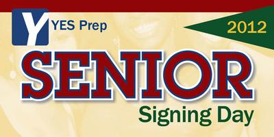 YES Prep Senior Signing Day 2012